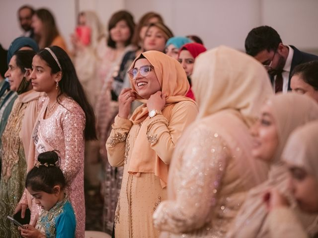 Zohra and Hamza's wedding in Markham, Ontario 117