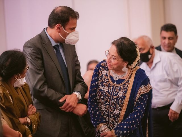 Zohra and Hamza's wedding in Markham, Ontario 118
