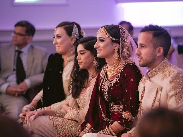 Zohra and Hamza's wedding in Markham, Ontario 121