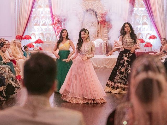 Zohra and Hamza's wedding in Markham, Ontario 125