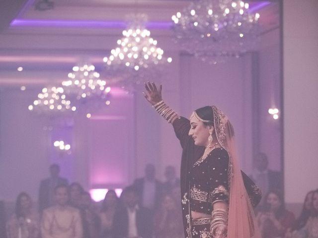 Zohra and Hamza's wedding in Markham, Ontario 131