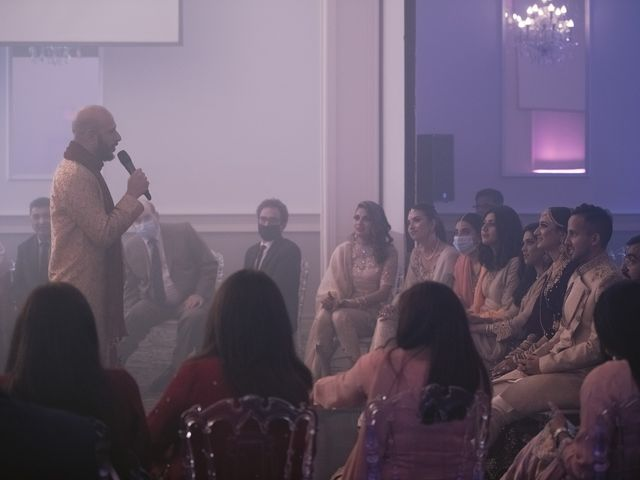 Zohra and Hamza's wedding in Markham, Ontario 133