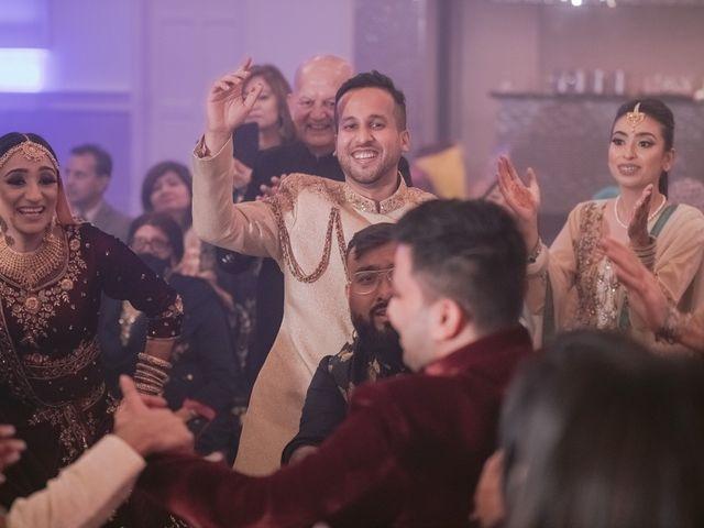 Zohra and Hamza's wedding in Markham, Ontario 135