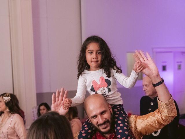 Zohra and Hamza's wedding in Markham, Ontario 139