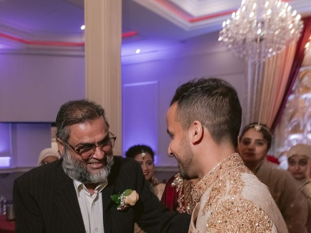 Zohra and Hamza's wedding in Markham, Ontario 140