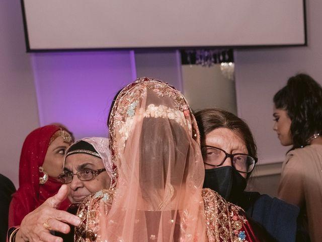 Zohra and Hamza's wedding in Markham, Ontario 141