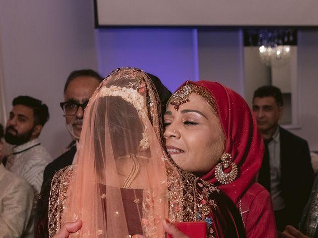 Zohra and Hamza's wedding in Markham, Ontario 142