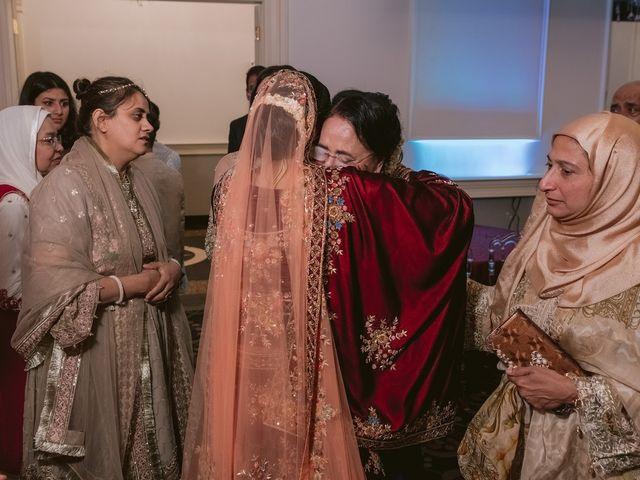 Zohra and Hamza's wedding in Markham, Ontario 143