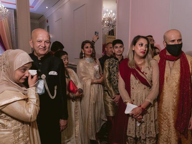 Zohra and Hamza's wedding in Markham, Ontario 144