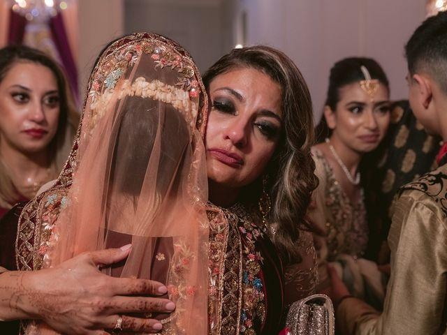 Zohra and Hamza's wedding in Markham, Ontario 146