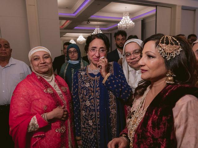 Zohra and Hamza's wedding in Markham, Ontario 147