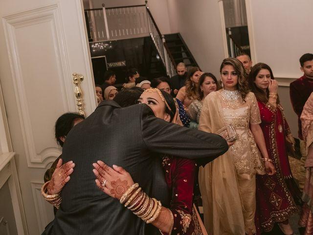 Zohra and Hamza's wedding in Markham, Ontario 149