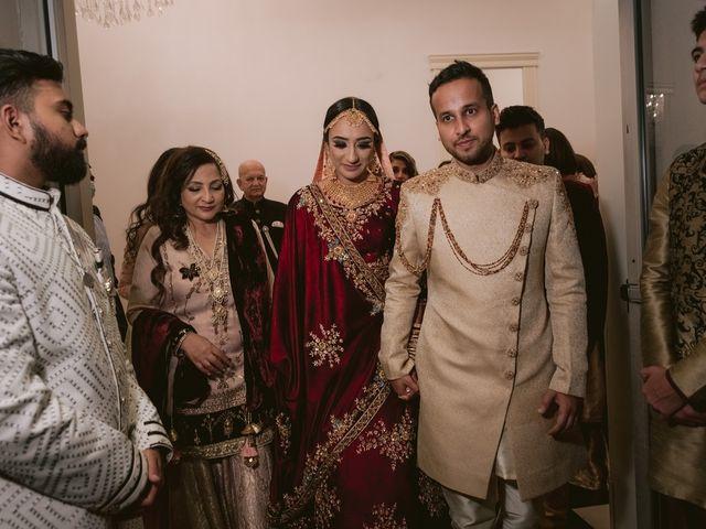 Zohra and Hamza's wedding in Markham, Ontario 150