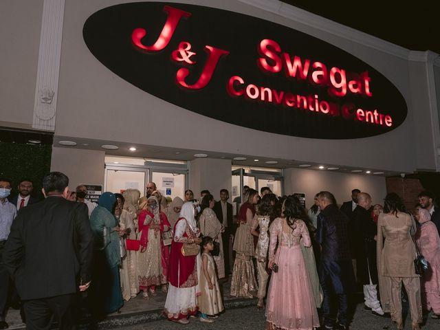 Zohra and Hamza's wedding in Markham, Ontario 156