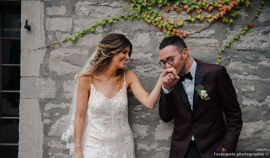 Marco and Jessica's wedding in Montreal, Quebec