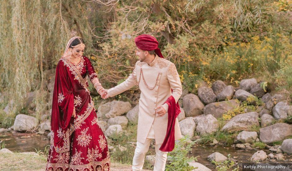 Zohra and Hamza's wedding in Markham, Ontario
