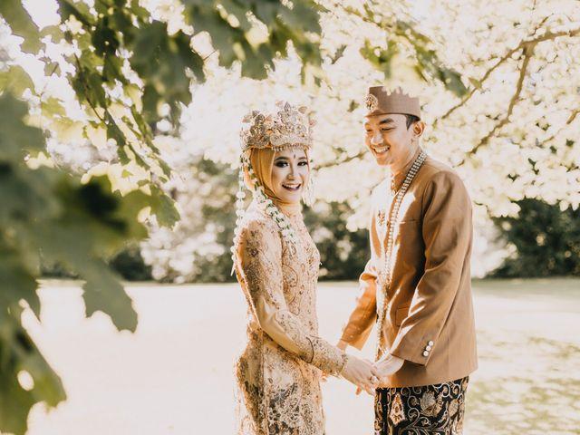 The wedding of Nabila and Khairul