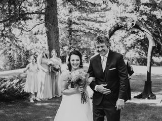 The wedding of Gabrielle and Michael
