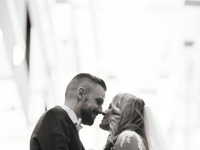 The wedding of Judy and Matthew