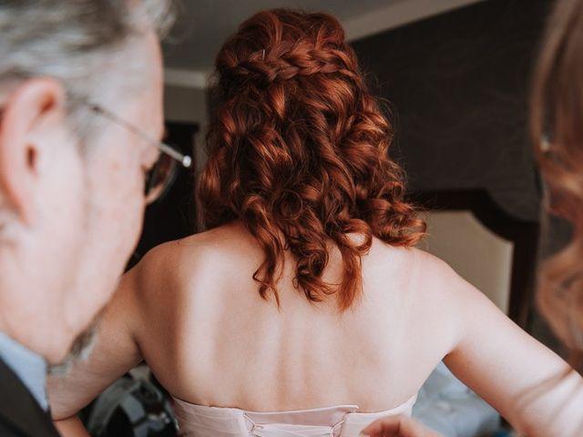 Aaron Golden and Breanne Fultz's wedding in Vancouver, British Columbia 4