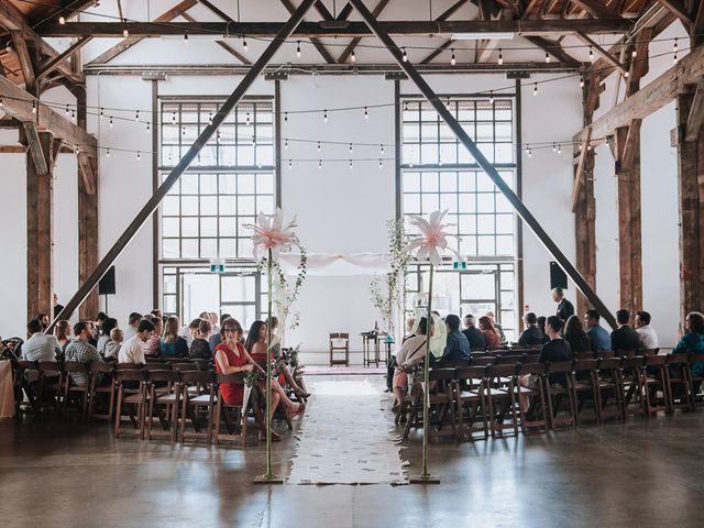 Aaron Golden and Breanne Fultz's wedding in Vancouver, British Columbia 5