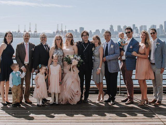 Aaron Golden and Breanne Fultz's wedding in Vancouver, British Columbia 10