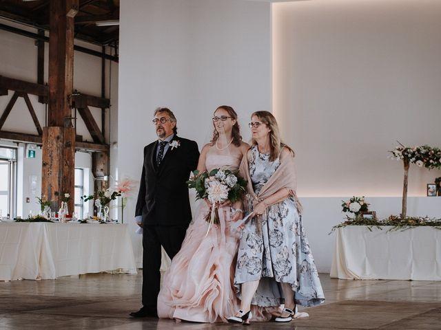 Aaron Golden and Breanne Fultz's wedding in Vancouver, British Columbia 12