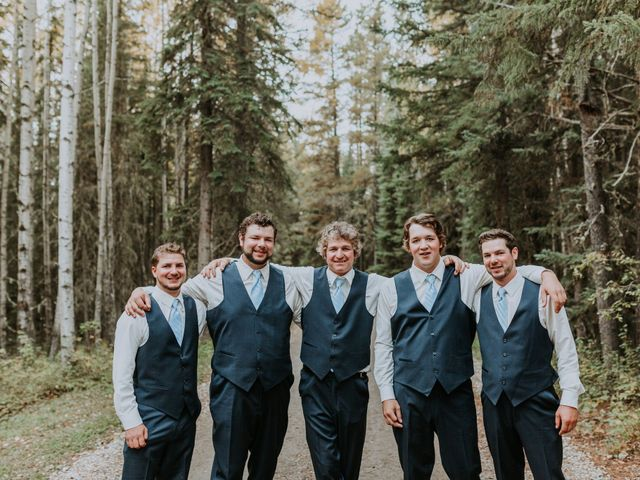Michael and Gabrielle's wedding in Edson, Alberta 3
