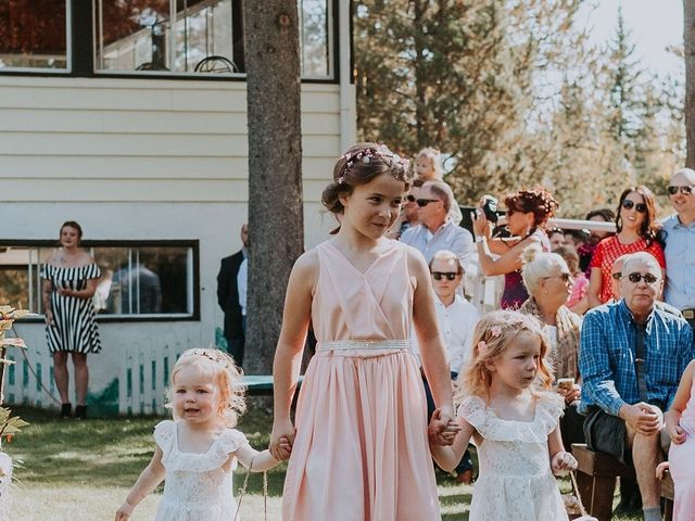 Michael and Gabrielle's wedding in Edson, Alberta 5