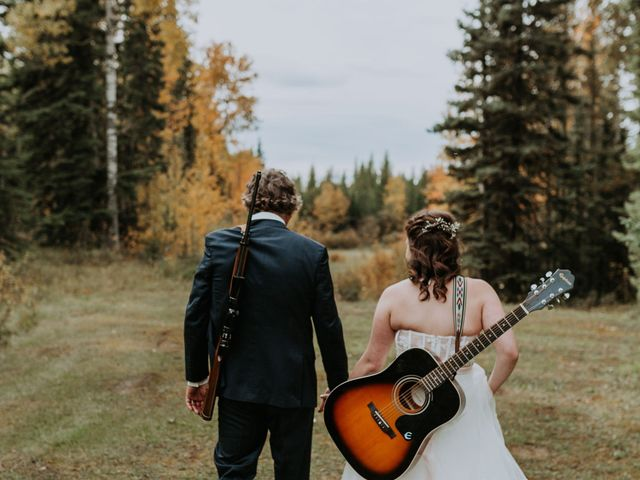 Michael and Gabrielle's wedding in Edson, Alberta 2