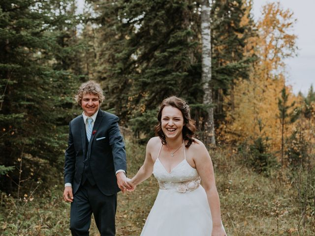 Michael and Gabrielle's wedding in Edson, Alberta 6