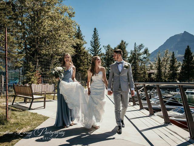Clive and Shiana's wedding in Waterton Park, Alberta 5
