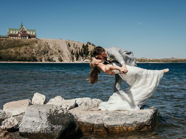 Clive and Shiana's wedding in Waterton Park, Alberta 7