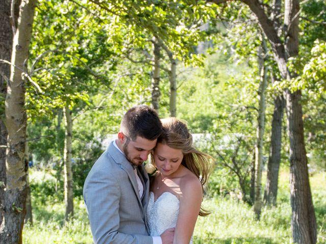 Clive and Shiana's wedding in Waterton Park, Alberta 13