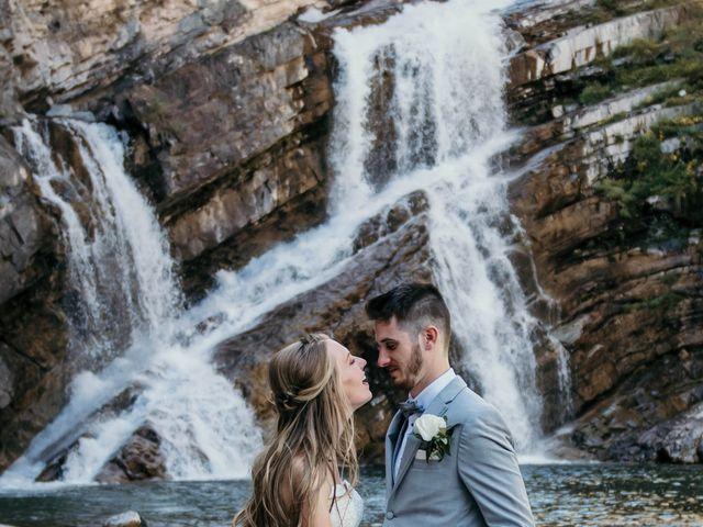 Clive and Shiana's wedding in Waterton Park, Alberta 16