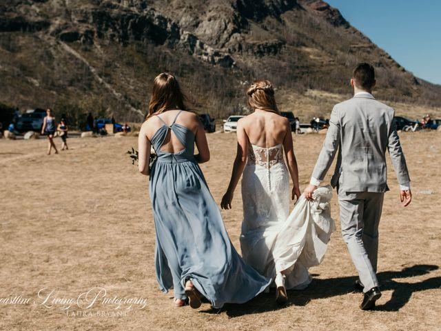 Clive and Shiana's wedding in Waterton Park, Alberta 17