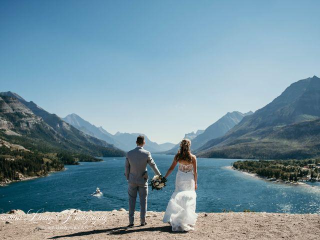Clive and Shiana's wedding in Waterton Park, Alberta 18
