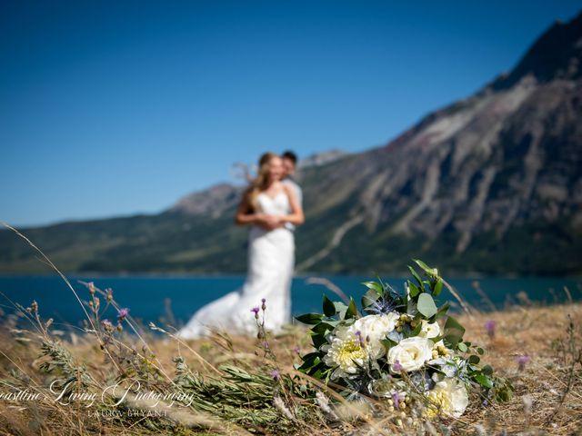 Clive and Shiana's wedding in Waterton Park, Alberta 21