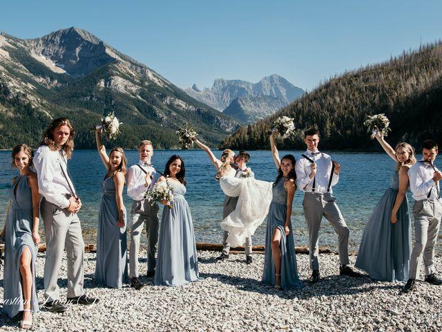 Clive and Shiana's wedding in Waterton Park, Alberta 25