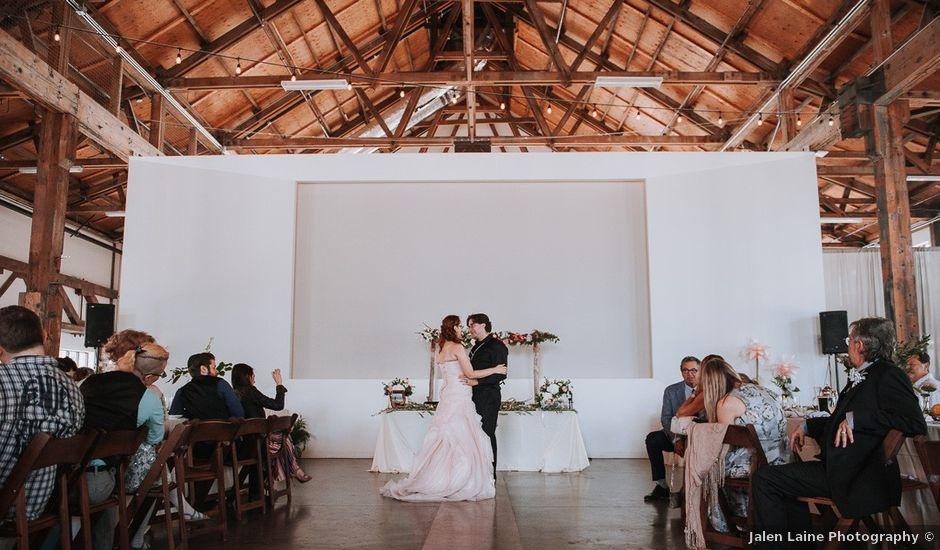 Aaron Golden and Breanne Fultz's wedding in Vancouver, British Columbia