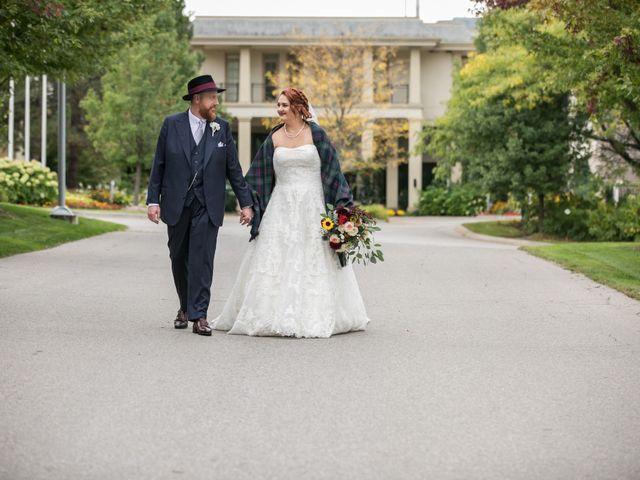 Jonathan and Alyssa's wedding in Mono, Ontario 8