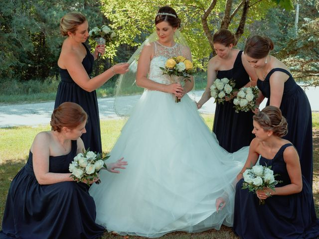 Nicole and Geoffrey's wedding in Pembroke, Ontario 41