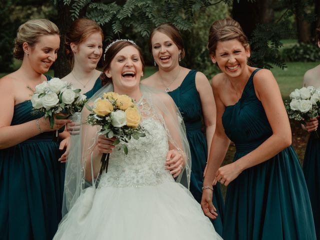 Nicole and Geoffrey's wedding in Pembroke, Ontario 1