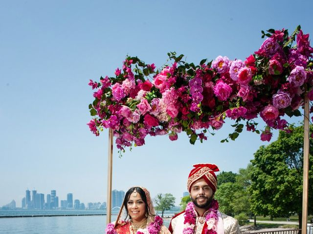 Parry and Neeta's wedding in Toronto, Ontario 1