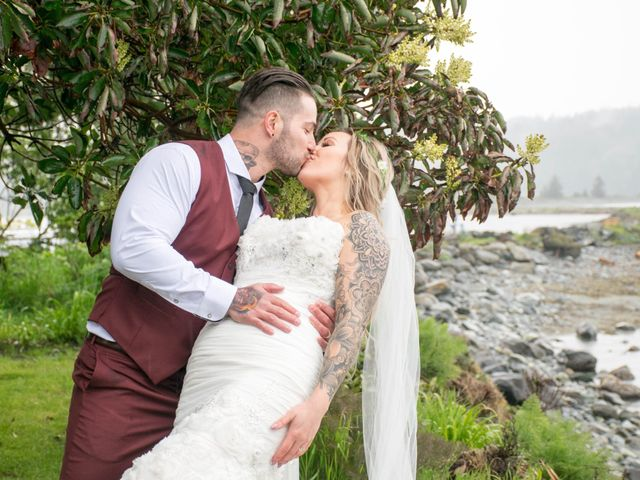 Jason and Jenelle's wedding in Sooke, British Columbia 10