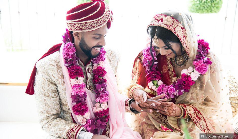 Parry and Neeta's wedding in Toronto, Ontario
