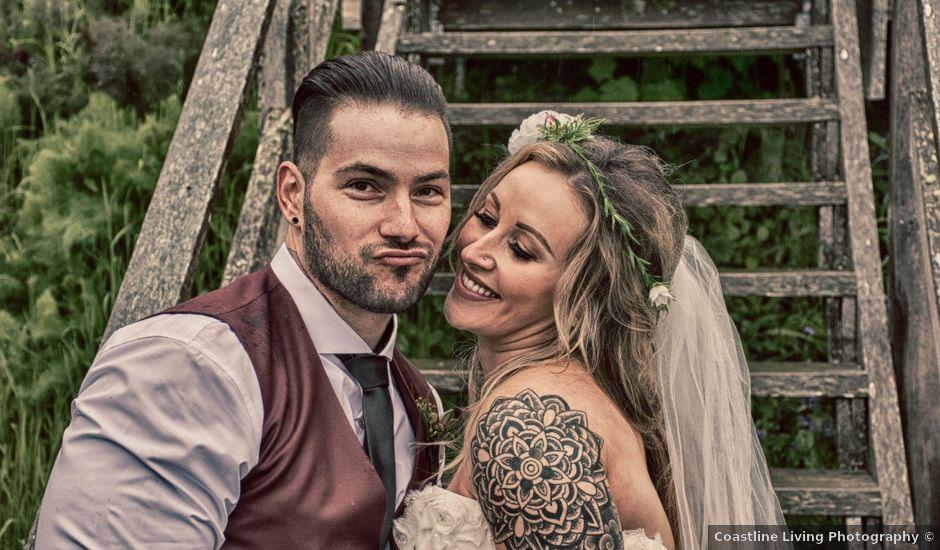 Jason and Jenelle's wedding in Sooke, British Columbia