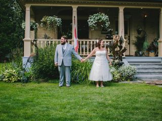 The wedding of Melanie and Earl