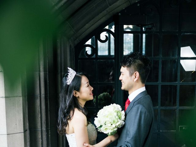 The wedding of Eric and Yujia