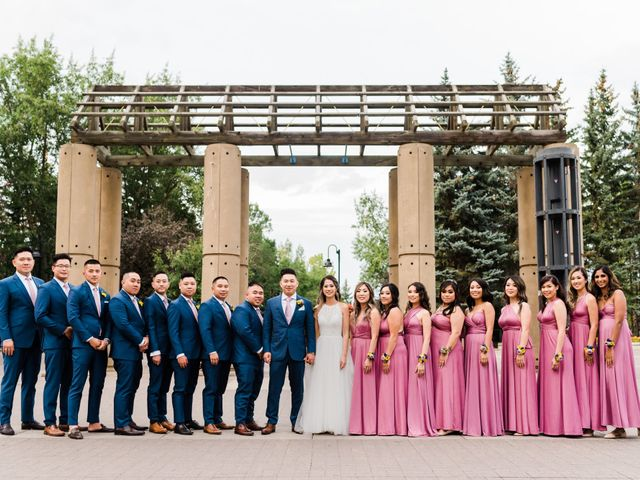Charlie and Anita's wedding in Calgary, Alberta 1